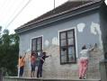 Kántori lakás javítása 2007.09-10